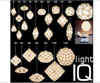 Wholesale iq puzzle lamp wedding light christmas light medium size diameter mm color for choice prompt delivery