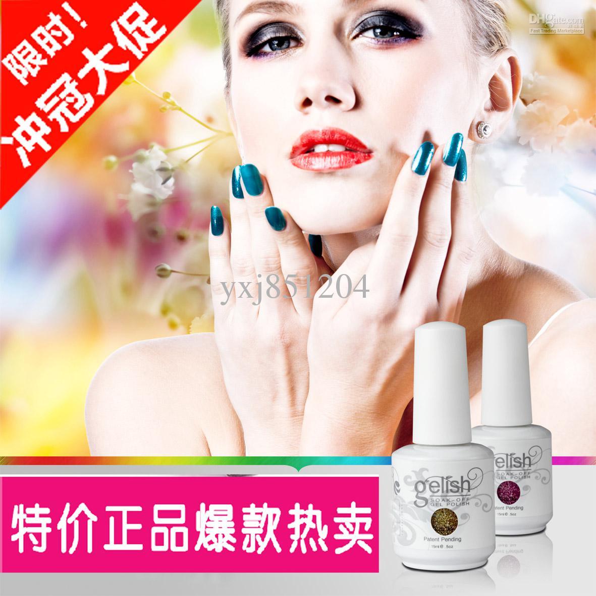 Nail Art Color Gelish Soak Off Uvled Gel Polish China Glaze Nail