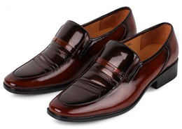 Wholesale Monk Strap Shoes Men - NEW Fast fashionable Men's wedding shoes Mens Sexy shiny leather shoes Unique men shoes HM73