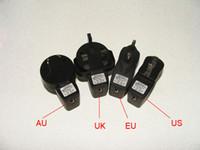 eu adaptör için ego toptan satış-Sıcak AC-USB adaptörü için USB Duvar şarj ABD Plug / AB Tak / İNGILTERE Tak / Au Tak forElectronic Sigara E-sigara E-çiğ Ego t Ego Adaptörü