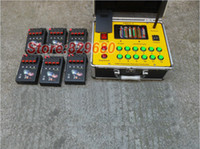Wholesale Long Distance Remote Controls - 2015 new Holiday Safety Equipment The receiver transmitter DBR01- 24 cues wire remote control fireworks firing system 400m Long-distance