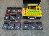 Wholesale Ignition Firing Firework Control - 2015 new pass 48 groups Electronic Equipment Ignition 1200cues DBR01- 48 cues wire remote control fireworks firing system 400m Long-distance