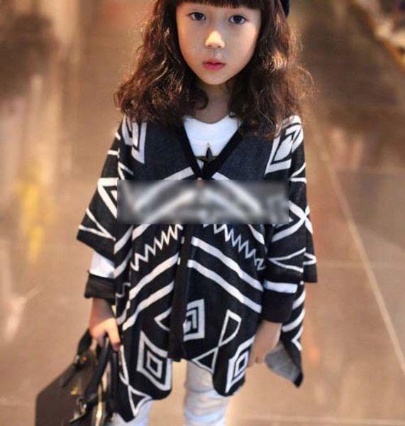 top popular Children Clothing Long Sleeve T Shirts Kids Casual Cardigan Child Clothes Black Shirt Cotton Shirts Girls Cute Wraps Fashion V-Neck Shirts 2021