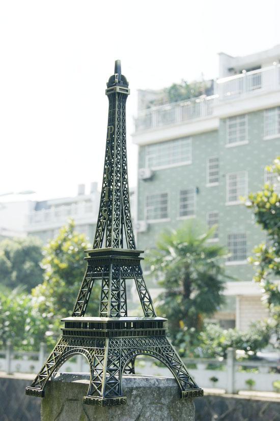 3d Metal Eiffel Tower Model French France Souvenir Paris Desk ...