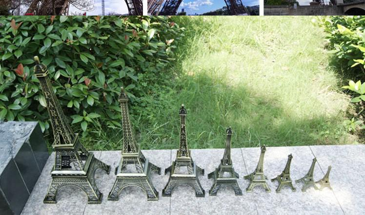 France paris 3D Eiffel Tower model Alloy Eiffel Tower desk table office home decoration special gift for friend