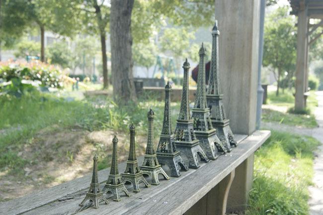 modelo 3D metal torre Eiffel francesa France recuerdo de París oficina de mesa de escritorio de la decoración del hogar regalo especial para el amigo /
