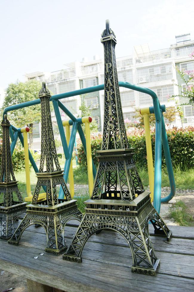 3D Metal Eiffel Tower model French France souvenir paris desk table office home decoration special gift for friend