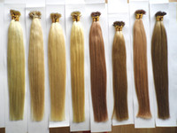 "Wholesale Extension Human Hair Micro - MIRACLE 100beads +100g 18"" 20"" MICRO NANO RINGS REMY hair extensions Indian human hair STOCK"