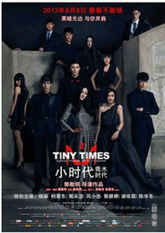 Wholesale China Wholesale Dvd Movies - Tiny times 2013 new moives TV Series DVD Made in China Region 2 Region free Brand new Sealed Box Set