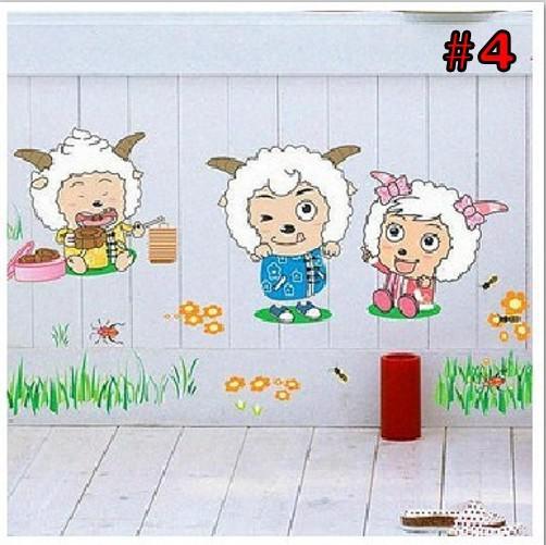Neues wasserdichtes PVC-Karikatur-Wand-Aufkleber-Wandgemälde für Kindraum Kinderzimmer-Ausgangsdekoration geben Verschiffen frei