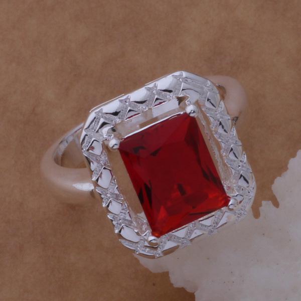 Le fedi nuziali d'argento austriache di cristallo 925 adattano i monili le donne che spediscono liberamente gli ordini di colore misto di trasporto /
