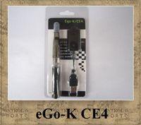 Wholesale Ego Ce4 Ce5 Blister Packs - Ego-K CE4 ego kit blister pack electronic cigarette 650mah ego-t battery colourful smokevapors CE4 CE5 CE6 EGO tank