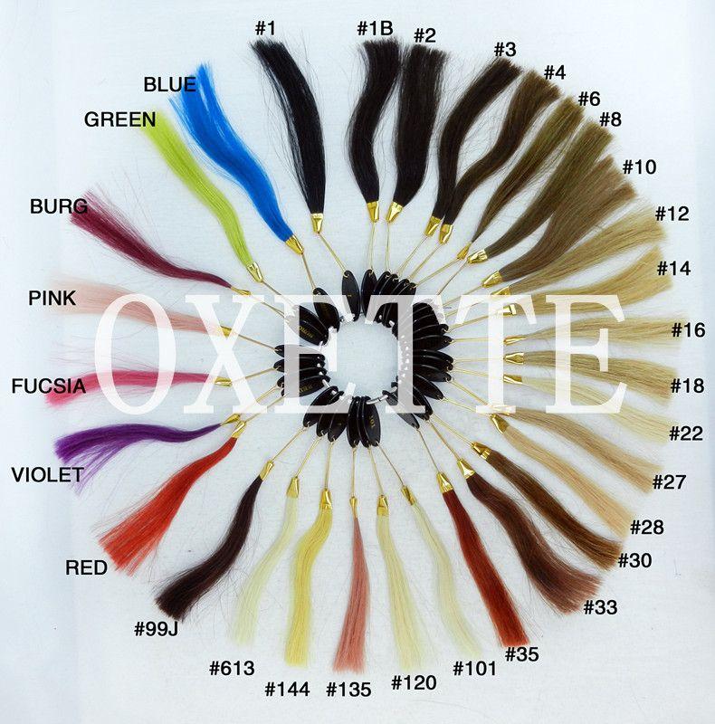 7A Ombre Brasilianisches Haar Lose Welle Ombre Haarverlängerungen 1B / 30 2 Tone Ombre Brasilianische Haarwebart Bundles