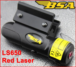 Wholesale Bsa Light - BSA LS650 Red Laser Sight Scope with 11mm 20mm Rail Base