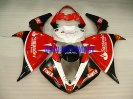 Motorcycle Fairing kit for YAMAHA YZFR1 09 10 11 12 YZF R1 2009 2012 YZF1000 ABS Red White black Fairings set+gifts YF01