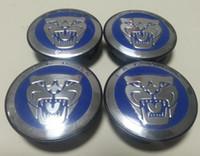 Wholesale Car Badges Emblems Sale - Hot Sale Jaguar Alloy Wheel Centre Cap Caps Car Badge Emblem Emblems Different Colour 400pcs