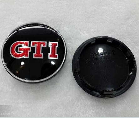 Hot Sale 65mm GTI R Alloy Wheel Centre Cap Caps Car Badge Emblem Emblems for VW