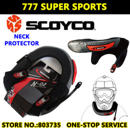 Wholesale Motorcycle Armor Gear - Scoyco N02 Motorcycle Neck Protector Sports Cycling Riding Cross Long-Distance Neck Brace Armor Protective Gears
