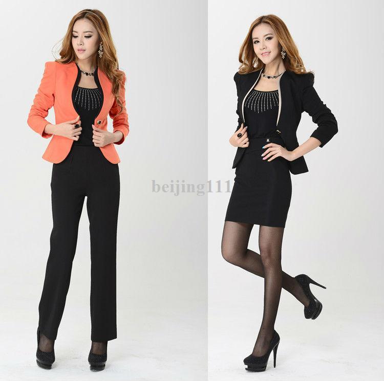 266984a3f05 2019 Fashion Ol Formal Women Suit 2014 Autumn Winter New Work Wear ...