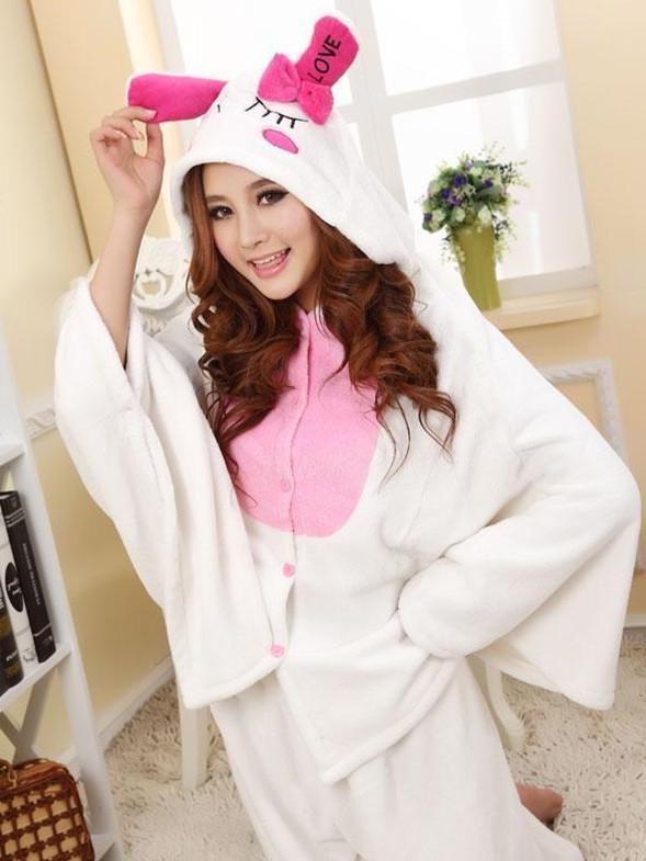 809de3745cb8 Wholesale Cute Bunny Adult Romper Costume White Rabbit Pajamas  Cosplay Pyjamas Onesie Buy Cosplay Online Japanese Anime Costumes From  Linglongge
