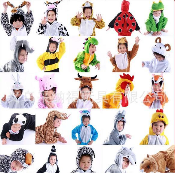 2017 2013 Baby Children\'s Cartoon Animal Halloween Costume Cosplay ...