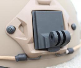 Wholesale Gopro Hd Hero2 - Helmet Aluminum Fixed Mount for Camera Gopro Hero3 Hero2 HD and NVG Mount Base in stock F06678