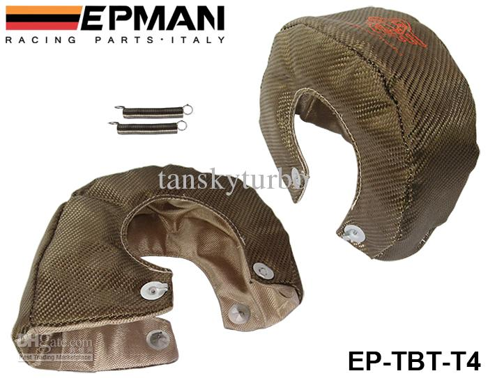 EPMAN High Quality RACING - Scudo termico universale Titanium T4 Turbo Heat Performance Performance Drag Drag Rally Cars EP-TBT-T4