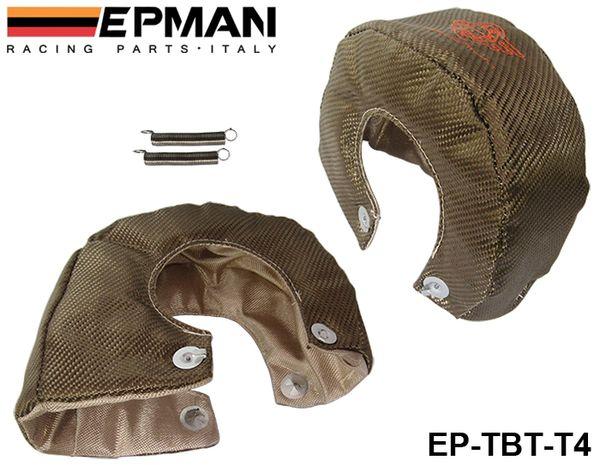 best selling EPMAN High Quality RACING - Universal Titanium T4 Turbo Heat Shield Blanket Performance Race Drag Rally Cars EP-TBT-T4
