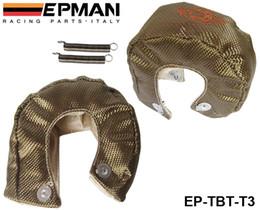 Universal Shield Canada - EPMAN High Quality RACING - Universal Titanium T3 Turbo Heat Shield Blanket - Race Rally Drag Drift EP-TBT-T3