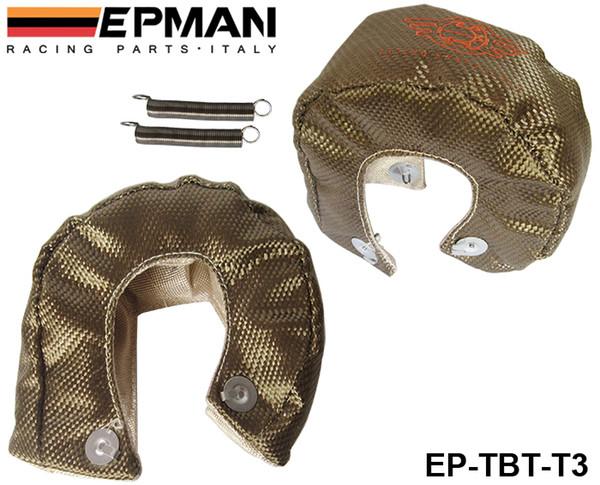 best selling EPMAN High Quality RACING - Universal Titanium T3 Turbo Heat Shield Blanket - Race Rally Drag Drift EP-TBT-T3