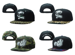 Discount mickey hands hat Cheap D9 Snapbacks Mickey Hand Snapback Hat Leopard Army Galaxy Colors Last Kings Adjustable Snapback caps adult Sport Caps hats Free Ship