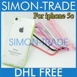 Wholesale Cheapest Iphone 5c Cases - Hard Shell Glow at night Case for iPhone 5c mini 5 Plastic Cover Dual Color noctilucent for new cheap iPhone 5c Colorful