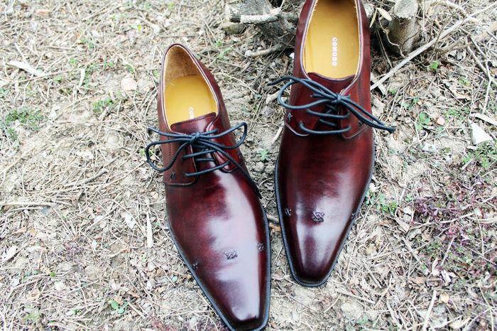Erkekler Elbise ayakkabı Erkek ayakkabı Oxfords ayakkabı Özel el yapımı ayakkabı Hakiki buzağı Deri renk bordo HD-185