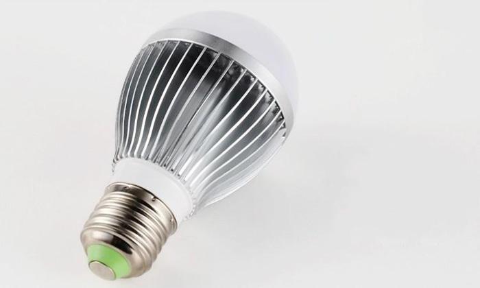 - X5 Retail Dimmable Bubble Ball Bulb 85-265V 9W 12W 15W E14 E27 B22 GU10 High power lamp Globe light LED Lighting