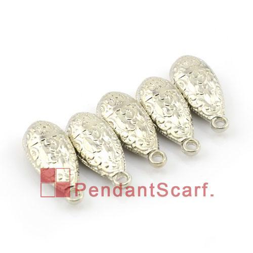 50 UNIDS / LOTE Caliente de La Manera Collar de Joyas DIY Bufanda Hallazgos Plástico CCB Encanto de la Forma de Gota de Agua Accesorios Colgantes, Envío Gratis, AC0073A