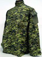 Wholesale Uniform Camp Shirts - Cadpat SWAT Digital Camo Woodland BDU Uniform Set shirt + pants free ship