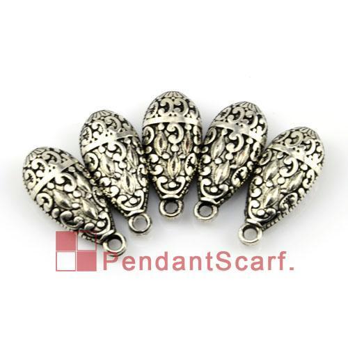New Fashion DIY Jewellery Necklace Scarf Pendant Gun Black Plated Plastic CCB Water Drop Shape Accessories, AC0073B