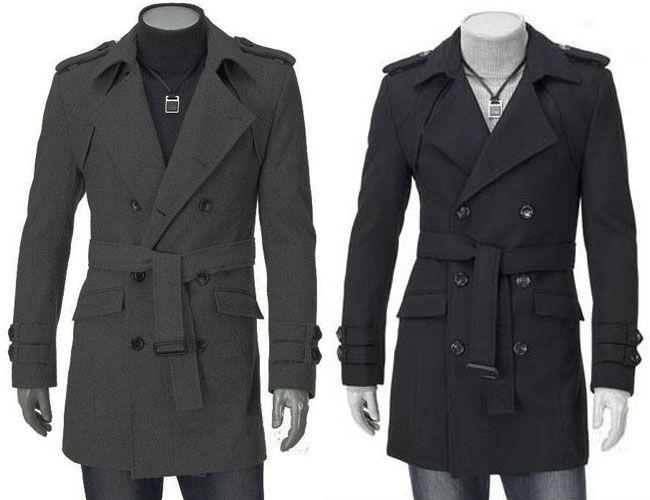 2018 Hot Sell!!Mens Trench Coat New Fashion Men Trench Man Boys ...