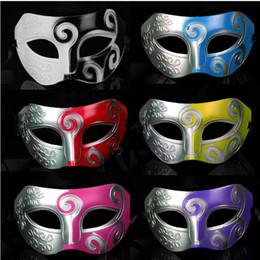 $enCountryForm.capitalKeyWord Australia - Half Face Men's Jazz Carving flower Mask Mardi Gras Masquerade Halloween Venetian Costume Party Masks Free Shipping