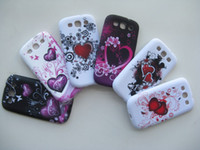 Wholesale Galaxy S3 Design - Beautiful Heart Design TPU Gel Soft Silicon Rubber Back Case Cover for Samsung Galaxy S3 i9300