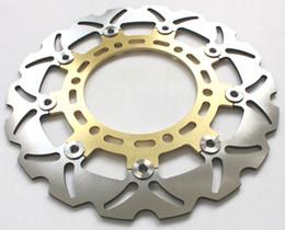 Wholesale Cnc Y - CNC Front Brake Disc Rotor for SUZUKI DR 650 SE SET-Y SEK1 SEK9 SP46B H1690 1996-2009 GOLD