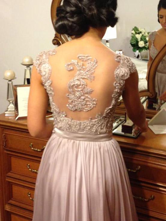 beaded chiffon dresses