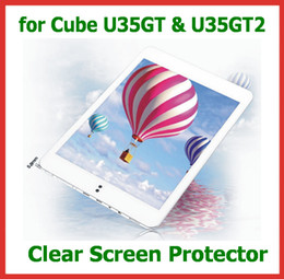 Wholesale Tablet Cube U35gt - 10pcs Customized Clear Full Screen Protector Protective Guard Film for Cube U35GT U35GT2 tablet pc 7.9 inch