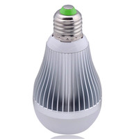 Wholesale Ball Lamp B22 3x3w - LED Globe Bulb Lamp E27 B22 E24 GU10 3x3W 9W 85-265V Led Bulbs Non dimmable Dimmable LED Lights Downlight Ball Lamp Silver Gold Body Bulbs