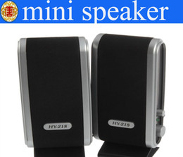 Wholesale Mini Portable Laptop Sound Box - Wholesale - Mini speaker USB Portable sound box Multimedia Speaker For Laptop PC Computer free shipping
