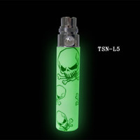 bateria fluorescente venda por atacado-Iluminação Bateria TSN Para EGO Atomizador Bateria Luz Fluorescente Na Noite Escura de amazestore DHL frete grátis