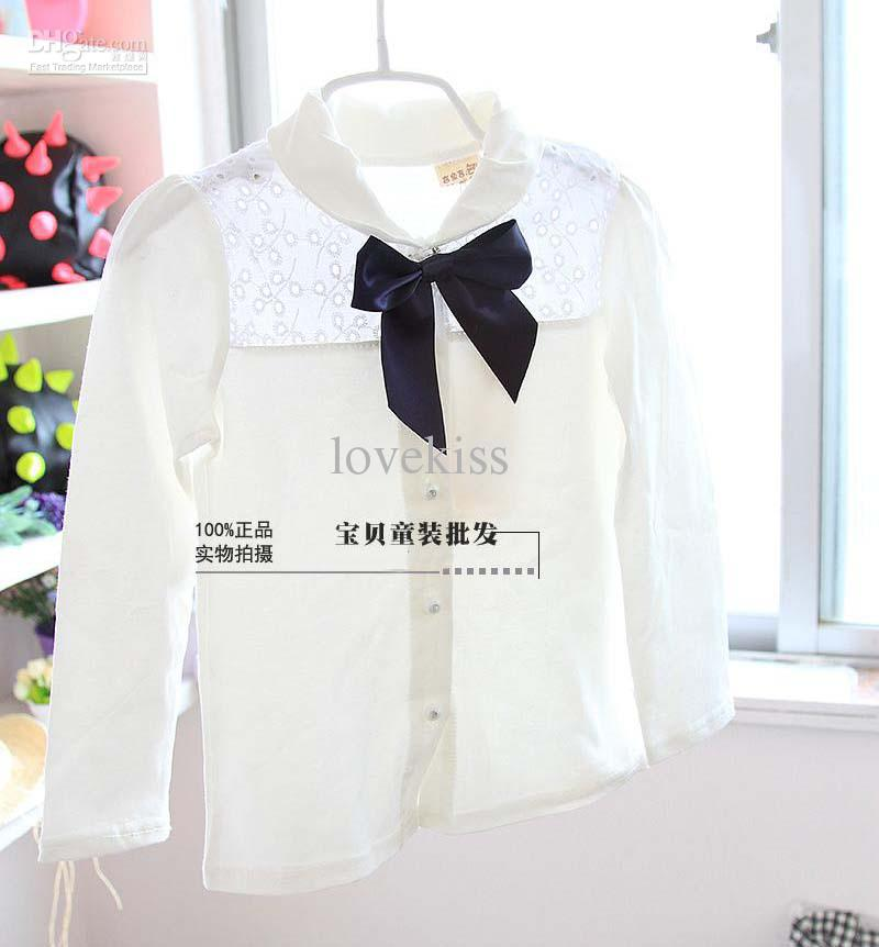 Child Suit Kids Sets Girl Clothes Fashion Two-Piece Casual Shorts Cute Bowknot White Shirt Children Clothing Girl Suit Outfits Children Set