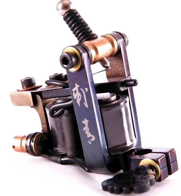 High Quality Luo's Tattoo Machine Gun Handmade For Liner Pro Tattooing Supply