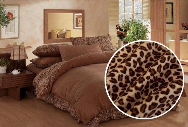 lady leopard active printed thick softest velvet bedding set for warm winter queen king size duvet doona cover sheet sets bed linen duvet cover