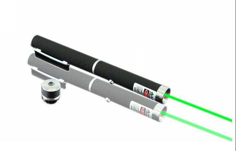 5 mW 532nm estrela luz feixe de ponteiro laser caneta com caleidoscópio Cap verde vermelho azul Violeta SOS reunião de ensino de montagem de caça Xmas presente